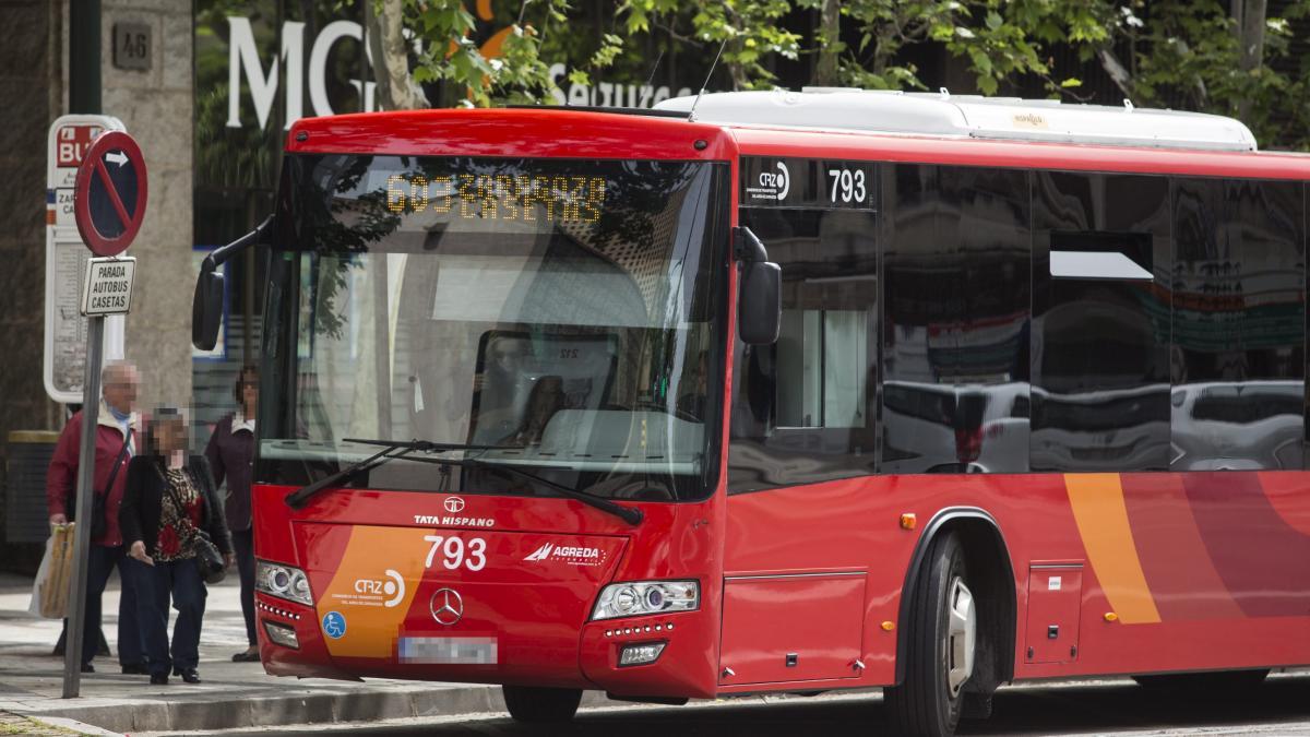 Bus Zaragoza Casetas